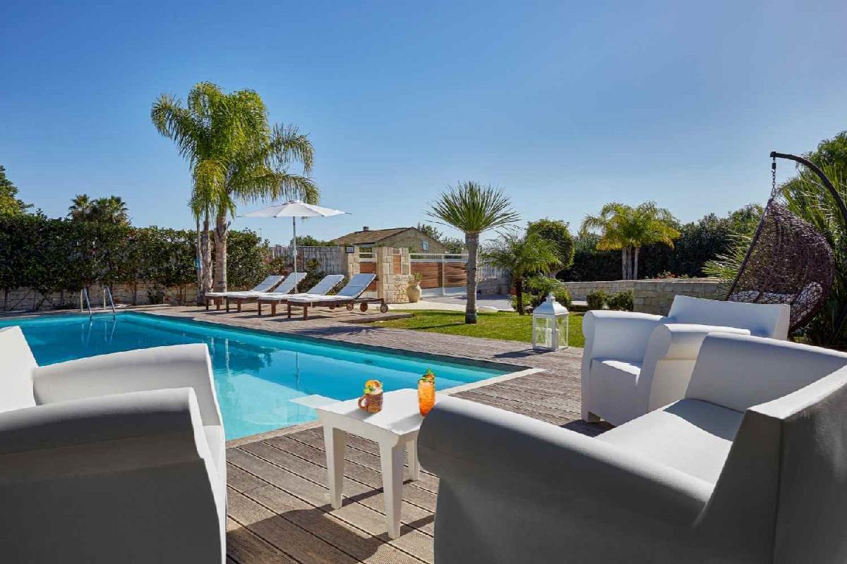 Villa Giame, piscina privata Pozzallo Sicilia